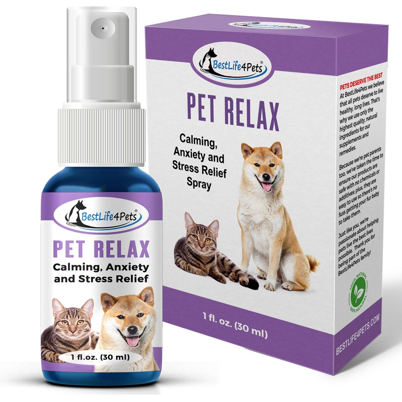 BL4P-Pet-Relax-Spray- Box