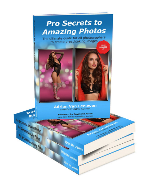 Book-Pro-Secrets - Graphic Design by 5 Star Studio at Luminous Light Photo and Design