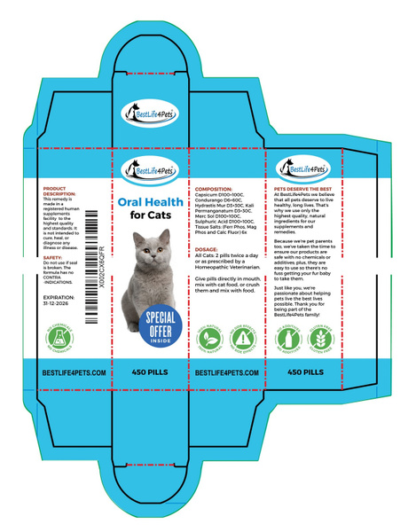 Package-Design-Oral-Health-Cats-Box by LuminousLight