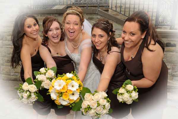 AJ-Bridesmaids - Luminous Light Photo offers Wedding Photography and Video packages