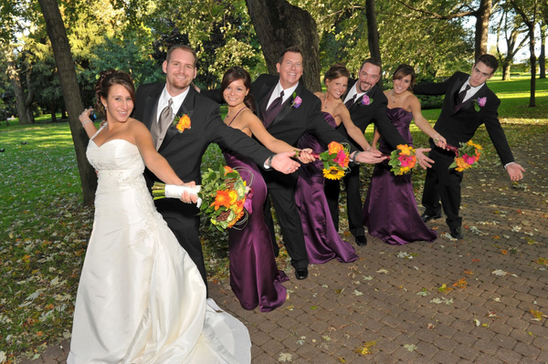 CM-Bridal-Party - Luminous Light Photo offers Wedding Photography and Video packages