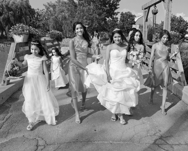 AO-Bridesmaids - Luminous Light Photo offers Wedding Photography and Video packages