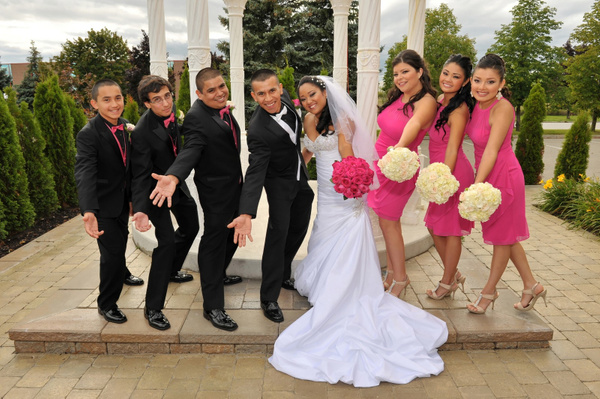 JPJC-Bridal-Party-2 - Luminous Light Photo offers Wedding Photography and Video packages