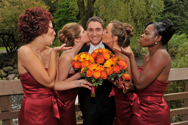 MJ-Groom-Bridesmaids - Luminous Light Photo offers Wedding Photography and Video packages