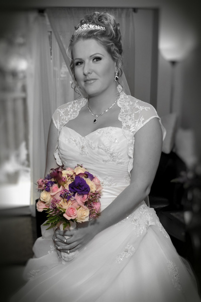 MW-Bride-Home_BW - Luminous Light Photo offers Wedding Photography and Video packages