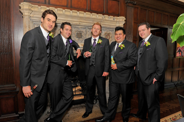 OCPA-Reception-Groomsmen - Luminous Light Photo offers Wedding Photography and Video packages