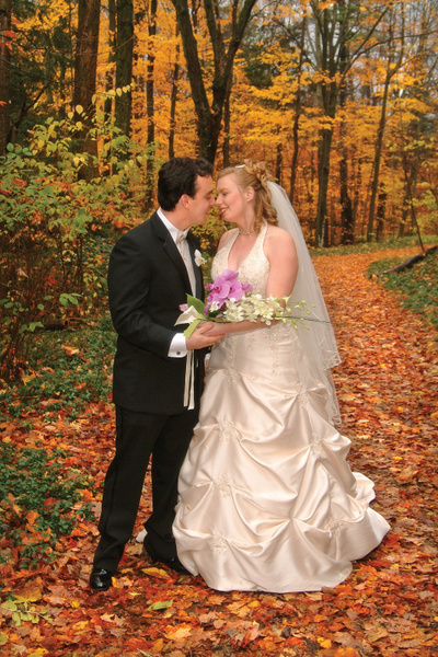 RR-Bride-Groom-Fall - Luminous Light Photo offers Wedding Photography and Video packages