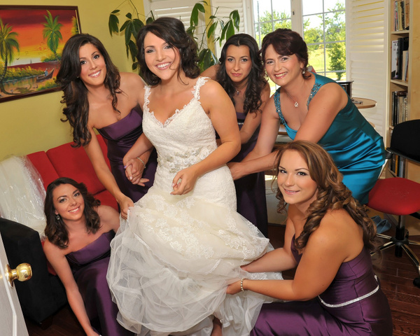 TPMS-Bridesmaids - Luminous Light Photo offers Wedding Photography and Video packages