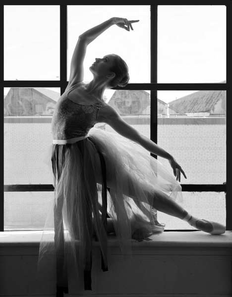 Ballerina-Window-Light - Model and Actor Portfolio Photography by Luminous Light Photo
