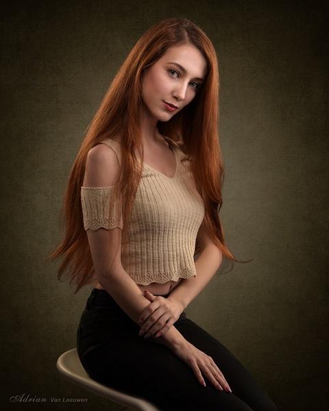 Daria-Portrait-Session - Model and Actor Portfolio Photography by Luminous Light Photo
