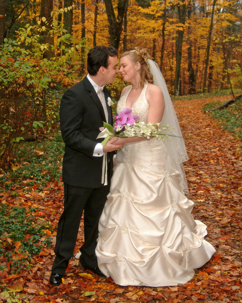 R-R-bride-groom-fall-leaves - Galleries of our Best Photography, Video and Graphic Design by LLP