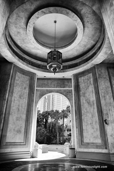 Arch-Mandalay-Bay-Hotel-Vegas-BW - Architecture - Luminous Light Photography
