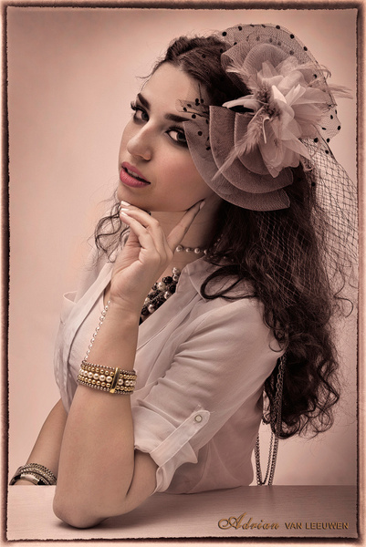Yasmine-Vintage-Fashion - Model and Actor Portfolio Photography by Luminous Light Photo