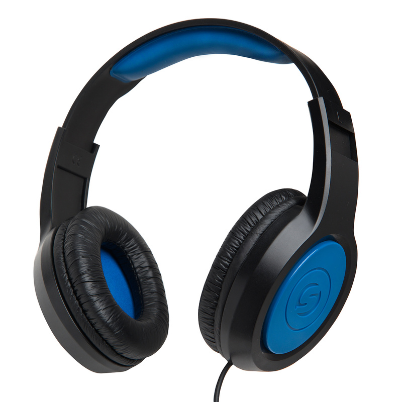 Headphones-Blue