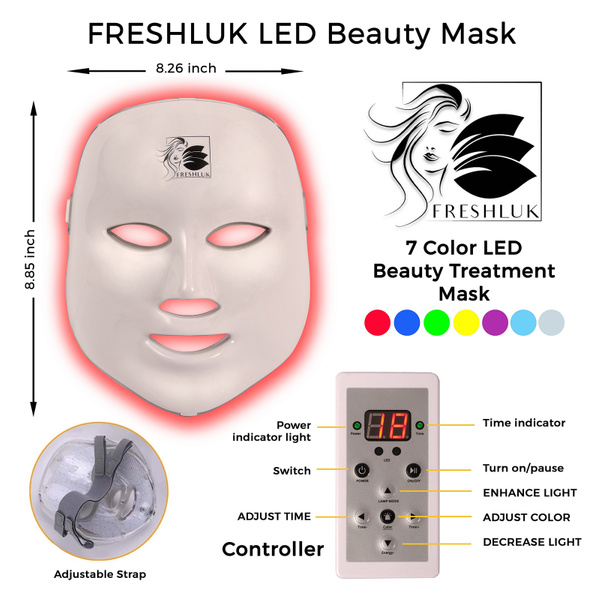 LED-Beauty-Mask-1 - Graphic Design by 5 Star Studio at Luminous Light Photo and Design