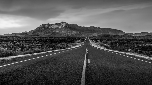 Road to Guadalupe Peak - Landscapes - Blackburn Images Photography