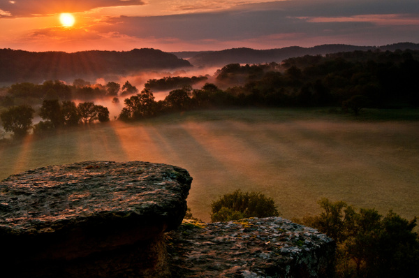 Harpeth Sunrise - Landscapes - Blackburn Images Photography