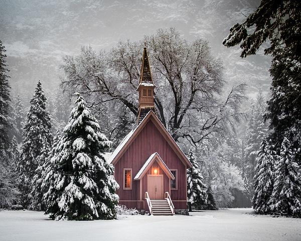 Morning's snowfall - Landscapes - Blackburn Images Photography