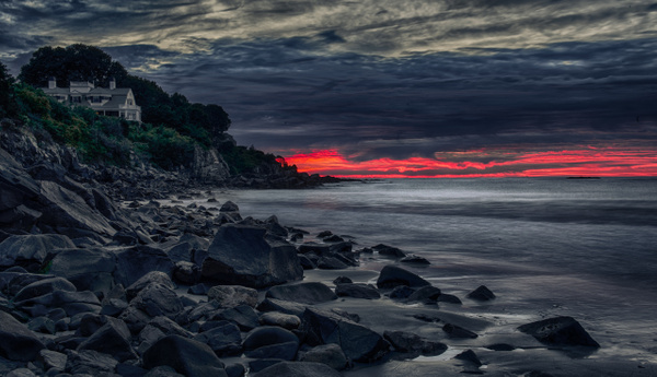 Sunrise at Harbor Beach. - Landscapes - Blackburn Images Photography