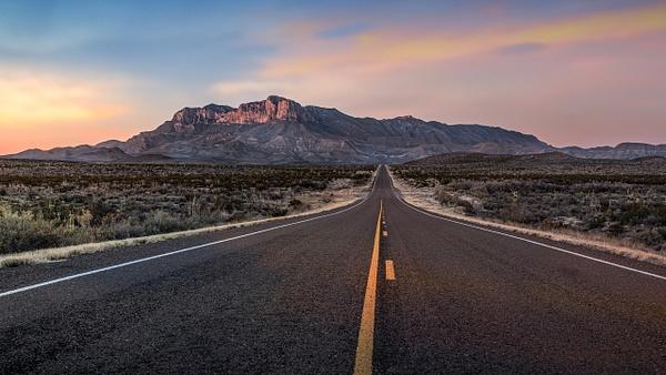 Road to Guadalupe Peak - Landscapes - Blackburn Images Photography