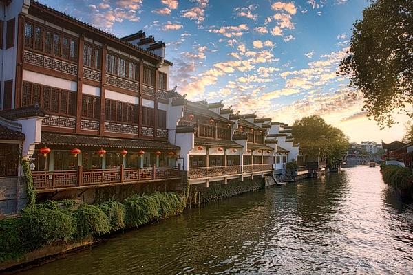 Nanjing - Qinhuai River - October 2019 - China 2019 - Johan Clausen Photography