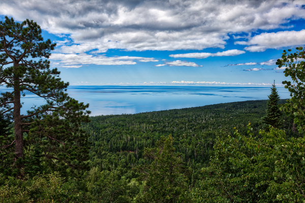 Grand Marais, Minnesota - Mount Oberg, view over Lake Superior- July 2018 - USA 2018 - Johan Clausen Photography