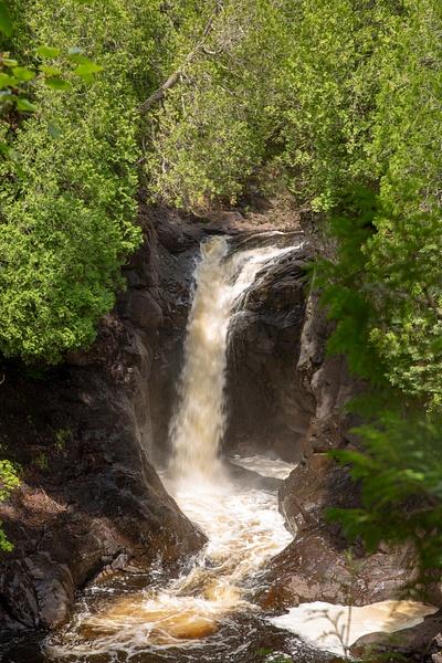 Minnesota - Waterfall - July 2018 - USA 2018 - Johan Clausen Photography