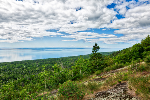 Grand Marais, Minnesota - Mount Oberg, view over Lake Superior - July 2018 - USA 2018 - Johan Clausen Photography