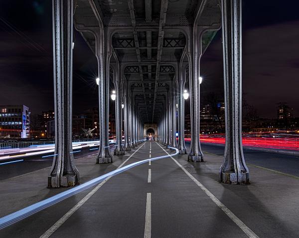 Paris-Bir-Hakeim-Night - Cityscapes - Thomas Speck Photography