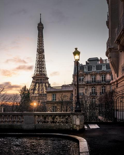 Paris-Eiffel-Tower-Sunrise - Paris - Thomas Speck Photography