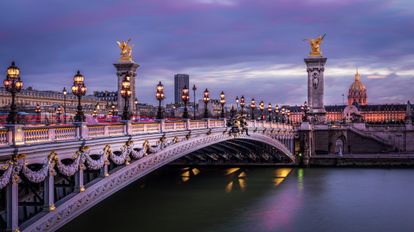 Paris-Pont-Alexandre-trois-Invalides - Paris - Thomas Speck Photography