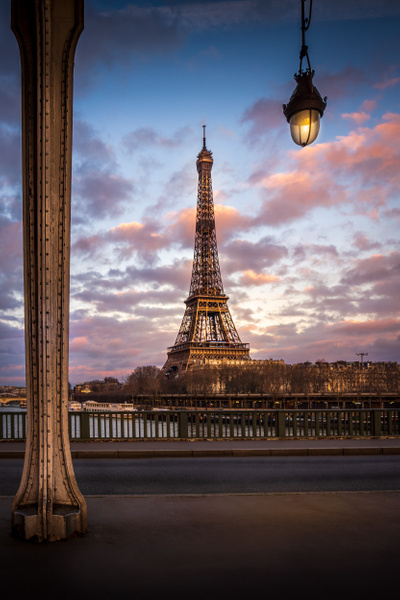 Paris-Eiffel-Tower-Bir-Hakeim-Sunset - Cityscapes - Thomas Speck Photography