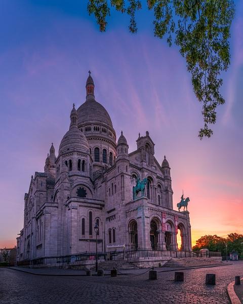 Paris-Montmartre-Sacré Coeur-Sunrise - Cityscapes - Thomas Speck Photography