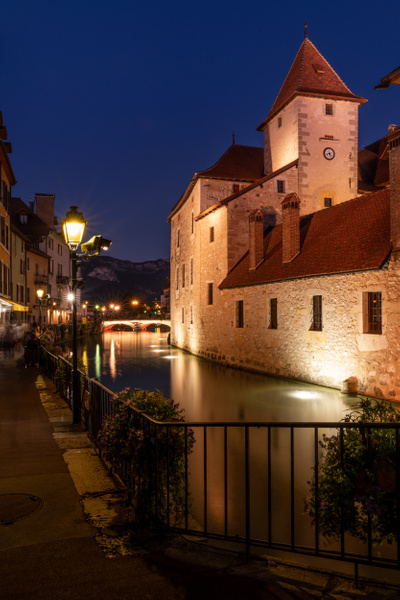 Annecy-Old Town-France-Blue Hour-Citylights - Cityscapes - Thomas Speck Photography