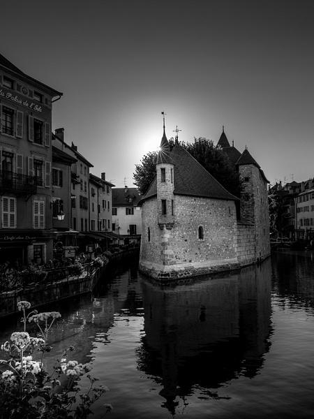 Annecy-Le Palais de I'Île-France-BW - Black White - Thomas Speck Photography