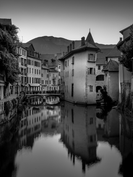 Annecy-Vielle Ville-BW - Black White - Thomas Speck Photography