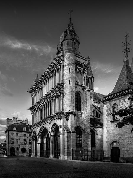 Dijon-Église Notre-Dame de Dijon - Black White - Thomas Speck Photography