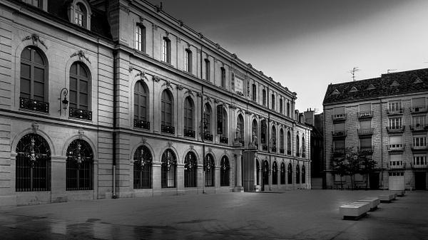 Dijon-Musée des Beaux Arts - Black White - Thomas Speck Photography