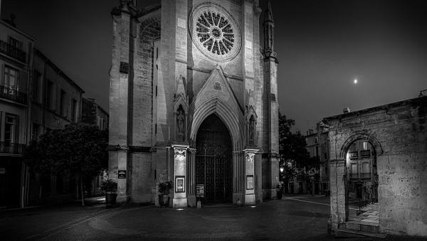 Montpellier-Eglise Saint Anne-France - Black White - Thomas Speck Photography