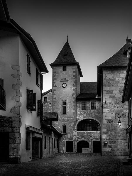 Annecy-Café des Arts - Black White - Thomas Speck Photography