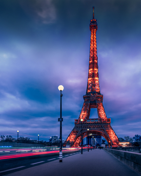 Pont d'Iéna-Eiffel Tower - Landscapes - Thomas Speck Photography