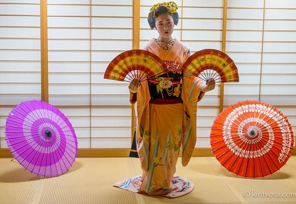 geishafan-1 - Japan in Autumn - Kirit Vora Photography