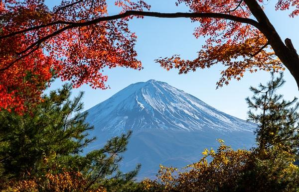 Fuji san - Japan in Autumn - Kirit Vora Photography