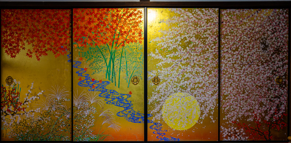 painting-1 - Japan in Autumn - Kirit Vora Photography