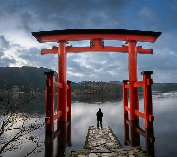 reflection - Japan in Autumn - Kirit Vora Photography