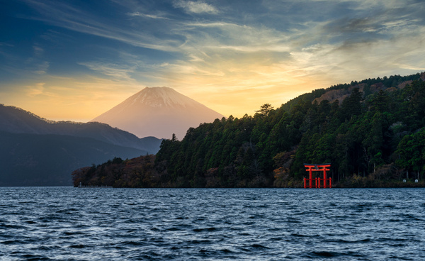 Toriigates hakone-1 - Japan in Autumn - Kirit Vora Photography