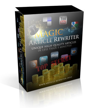 Magic Article Rewriter Discount Promo code coupon