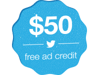 Twitter ads coupon