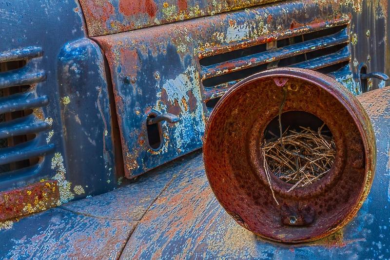 Old Car at Hot Sams