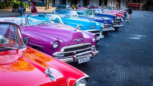 Cuba Tourist Taxies.jpg by Richard Isenhart
